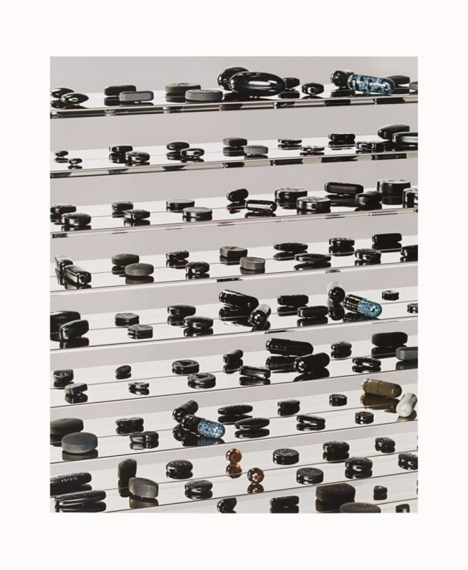 Damien Hirst, Black Utopia 2012