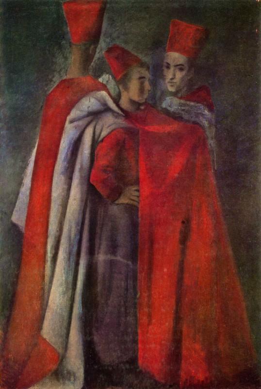 Pavel Tchelitchew, Three Spahis, 1931