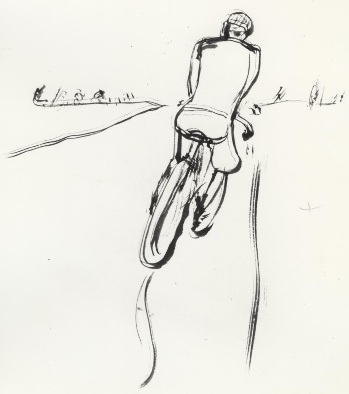 Pierre Bonnard, The Cyclist, 1905