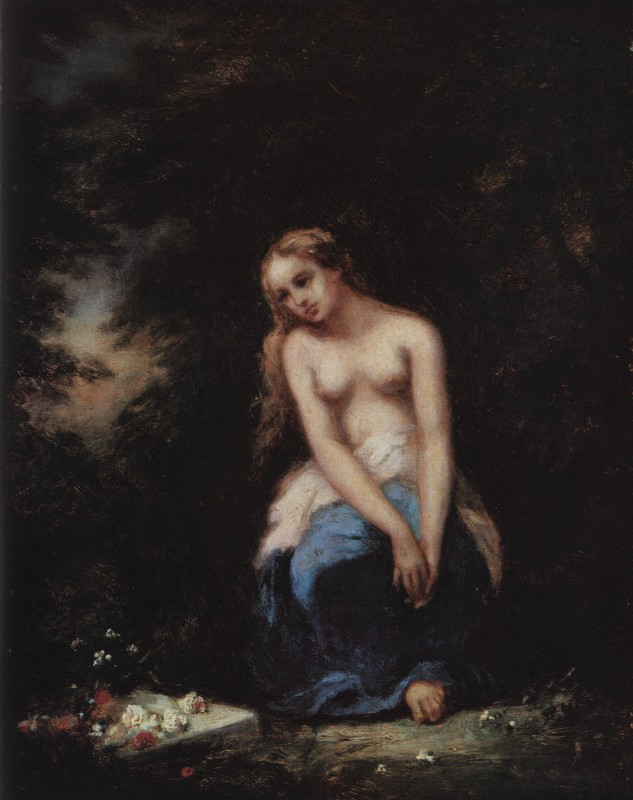 Narcisse Diaz, L'Abandonnee, 1856