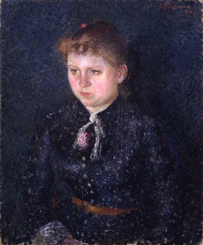 Camille Pissarro, Portrait de Nini , 1884