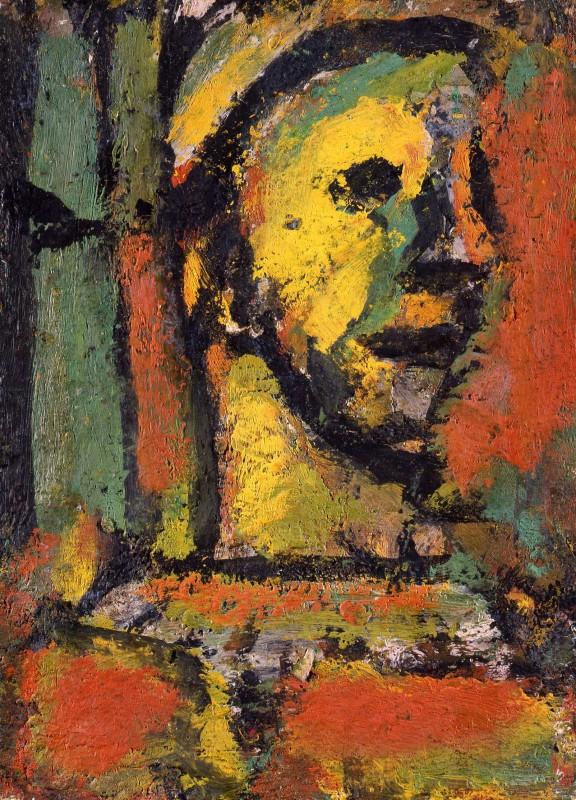 Georges Rouault, Pensive Clown