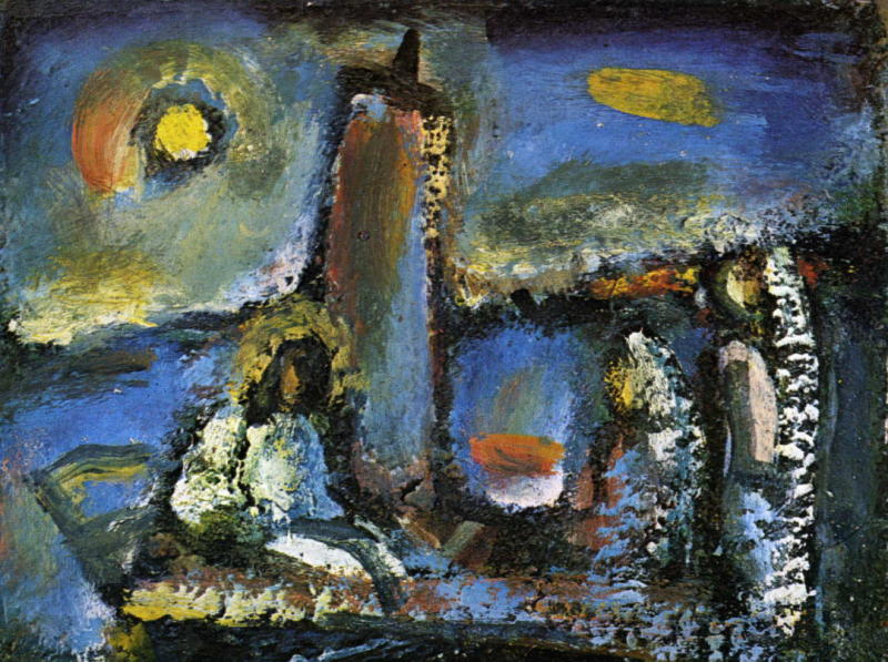 Georges Rouault, Christ on the Lake