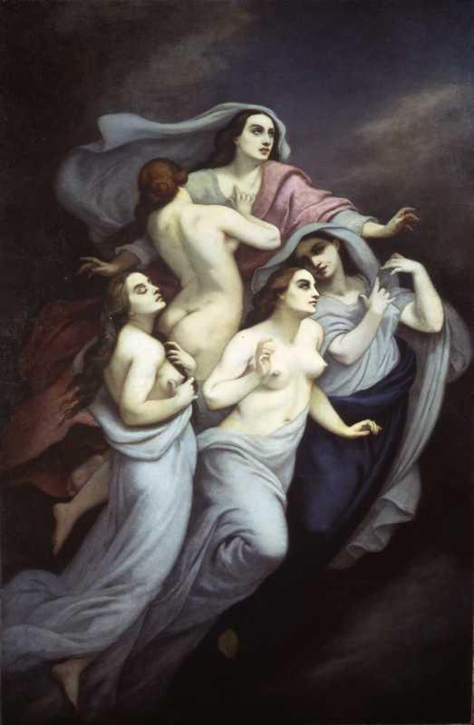 Narcisse Diaz, Les Dernieres Larmes , 1855