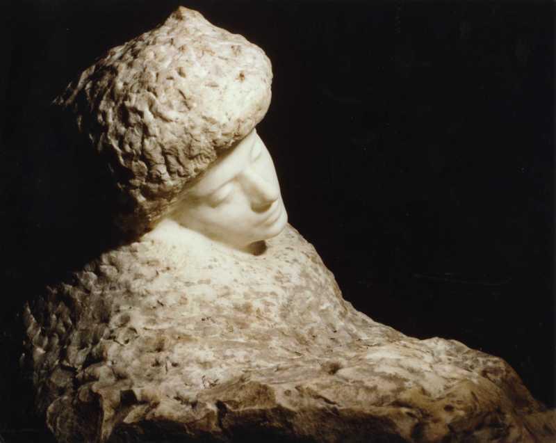 Auguste Rodin, Portrait of Lady Sackville, 1916