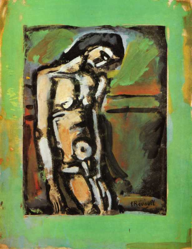 Georges Rouault, Christ Flagelllated