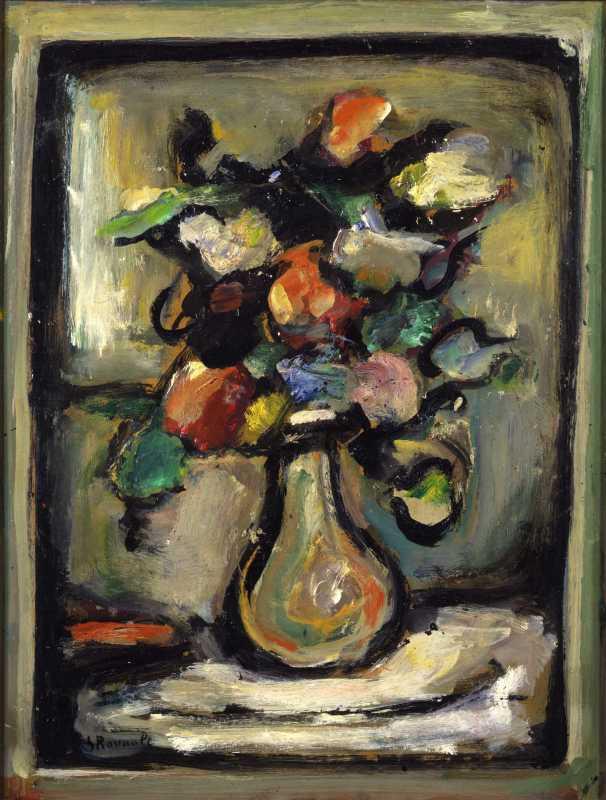 Georges Rouault, Vase of Flowers