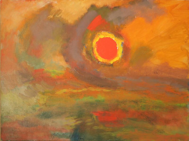 Albert Houthuesen, Blazing Sun, 1967