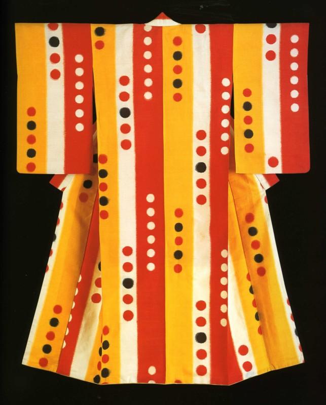 Kimonos from the Montgomery Collection of Japanese Folk Art, Woman's kimono , 1920's-30's