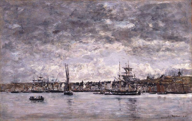 Le Port at Camaret, 1872