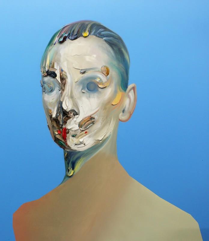 Ryan Hewett, Cerulean Blue Hue, 2016