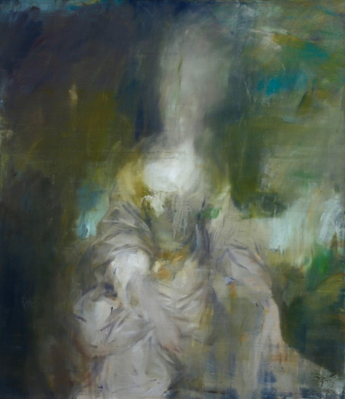 Jake Wood-Evans, Portrait of Lucy Long, after Reynolds, 2017