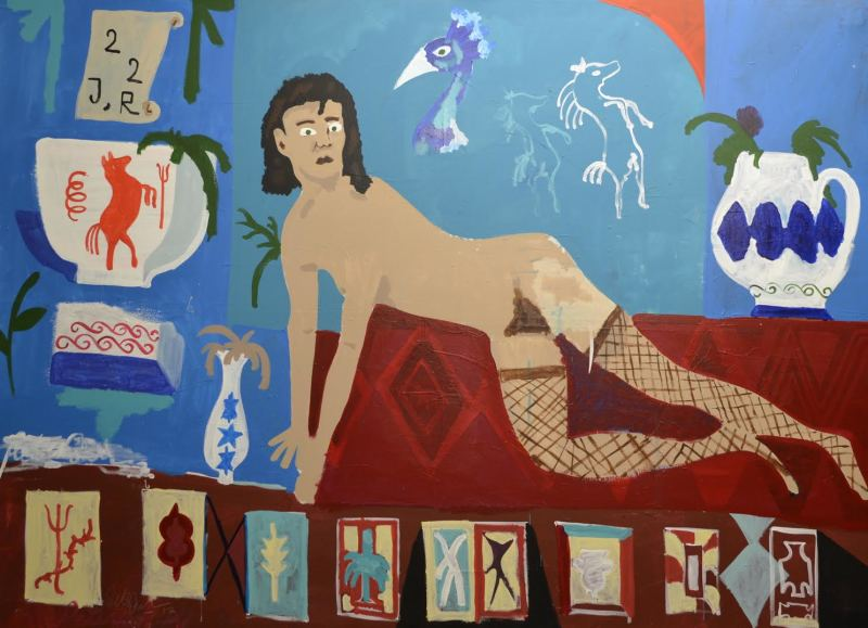 Peter Doyle, Woman and Carpet