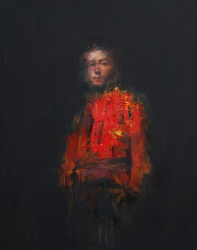 Jake Wood-Evans, Portrait of Sir Duncan Campbell, after Raeburn, 2016