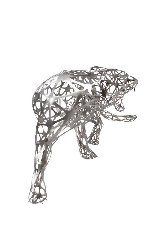 Richard Orlinski, Wild Tiger Ajoure , 2016