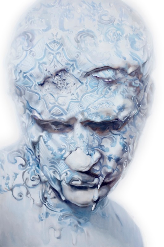 Ivan Alifan, Porcelain Bust, 2015