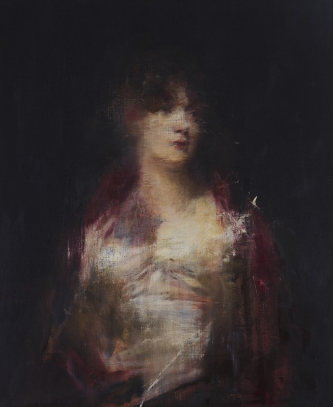 Portrait of a Woman in Red, 2016