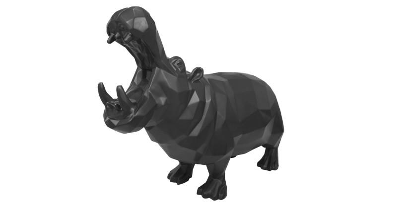 Richard Orlinski, Wild Hippo , 2016