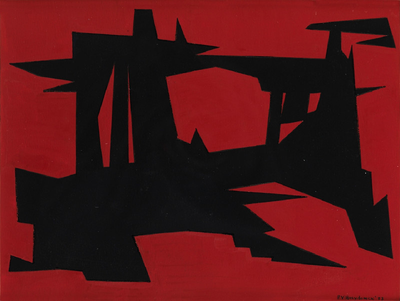 Paul Van Hoeydonck, PVH023 - Composition, 1957
