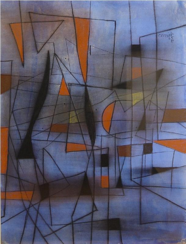 Caziel, WC512 - Composition 02.1965, 1965