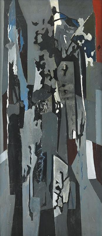 Caziel, WC243 - Composition no. 45, 1955