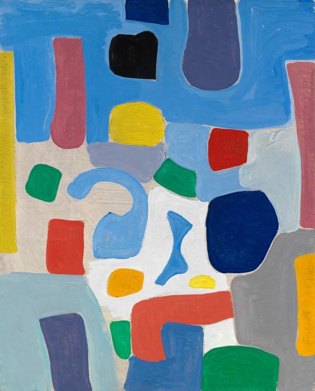 Caziel, WC771 - Composition, c. 1967