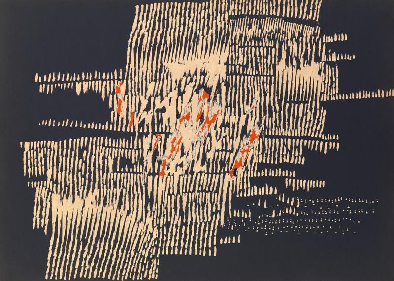 Reinhold Koehler, Décollage Pur 1961 #48, 1961