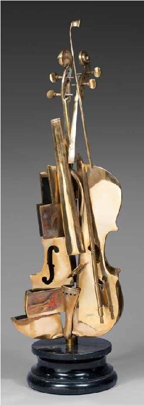 Arman, Violon Cubiste, c. 2004