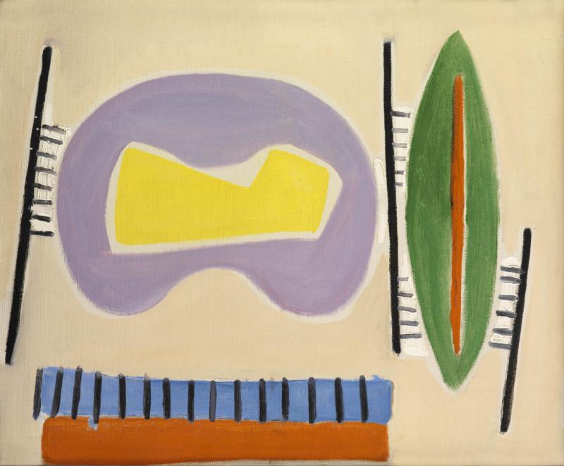 Caziel, WC210 - Composition no. 35, c.1950