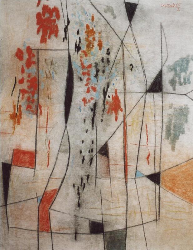 Caziel, WC524 - Composition 02.1965, 1965