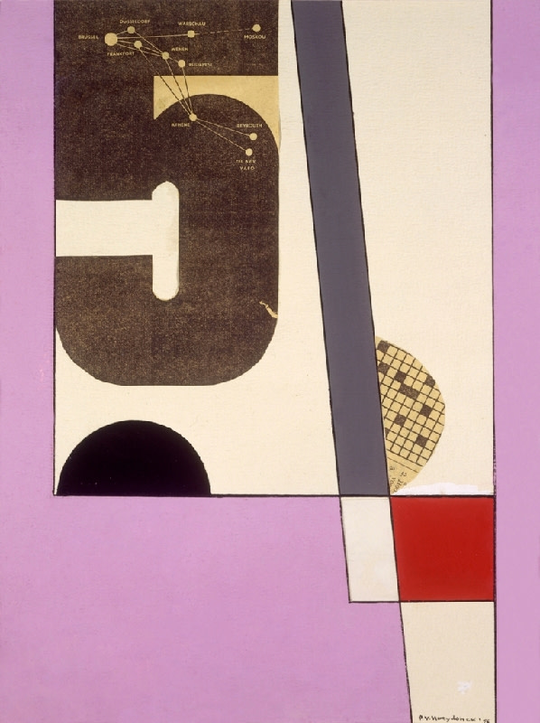 Paul Van Hoeydonck, PVH035 - Composition, 1956