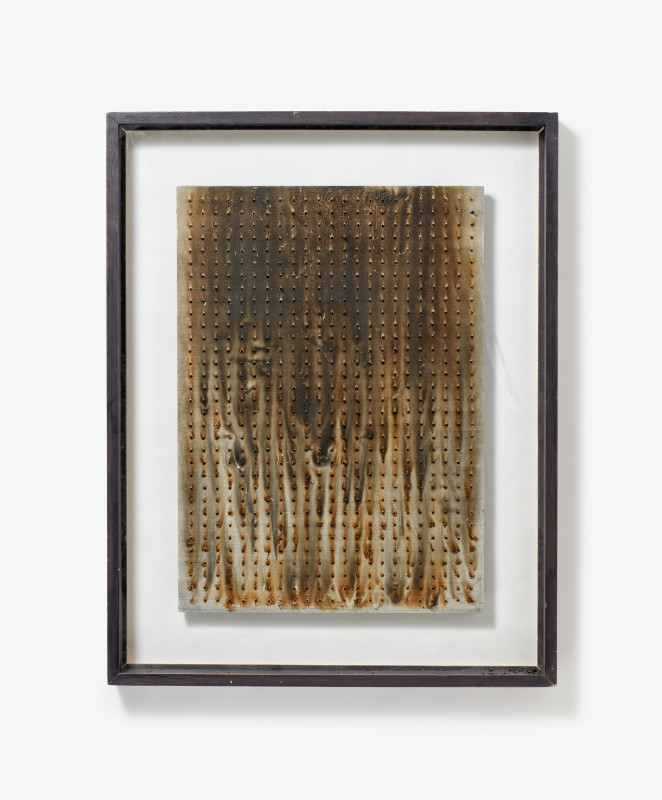 Bernard Aubertin, Untitled, 1974
