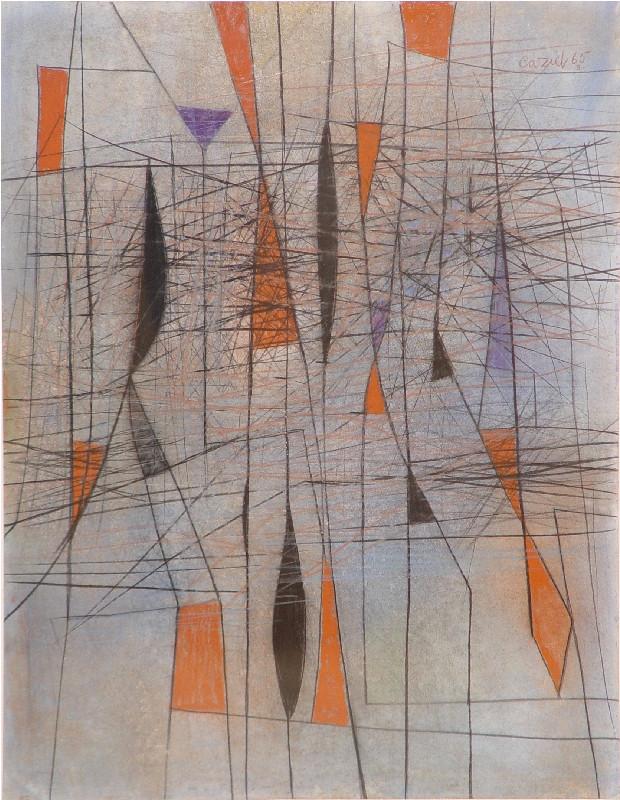 Caziel, WC509 - Composition 03.1965, 1965