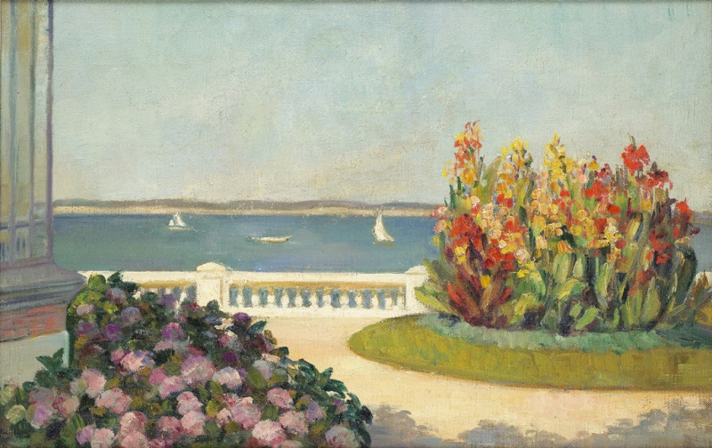 Mildred Bendall, Chateau - Bassin d'Arcachon, c. 1922