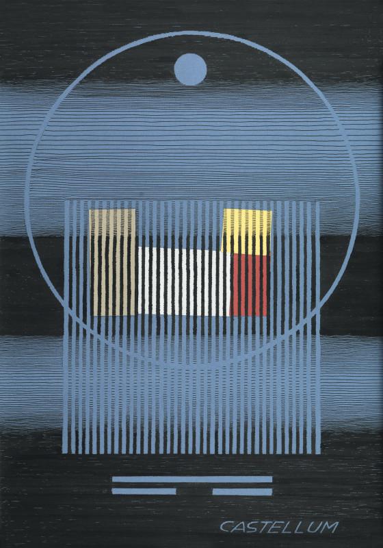 Michel Seuphor, Castellum, 1991