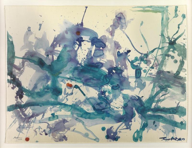 Zao Wou-Ki, Untitled, 2011