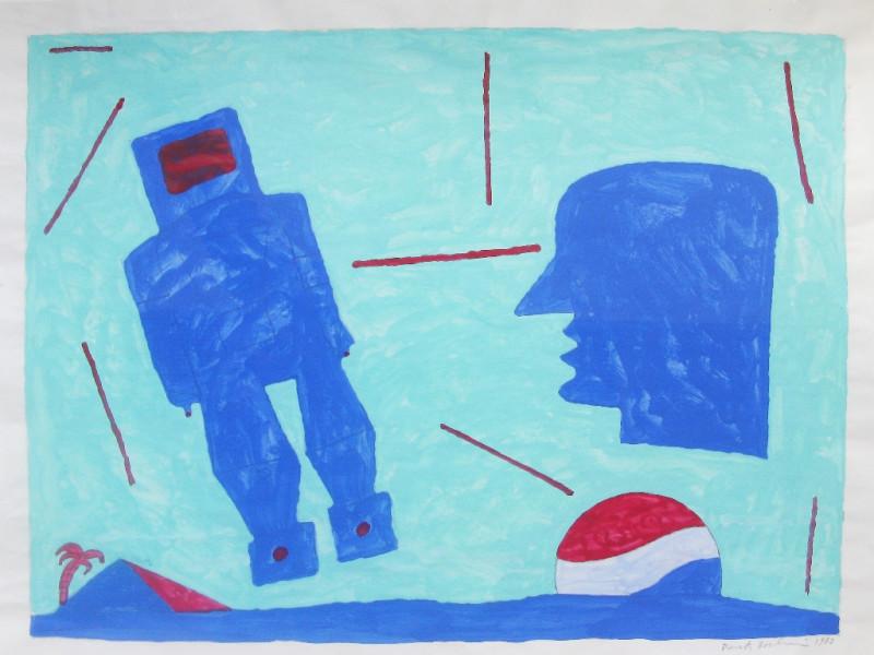 Derek Boshier, Robot Rising, 1962