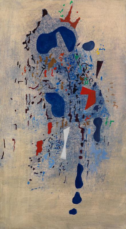 Caziel, WC787 - Composition 26/XI/1965, 1965