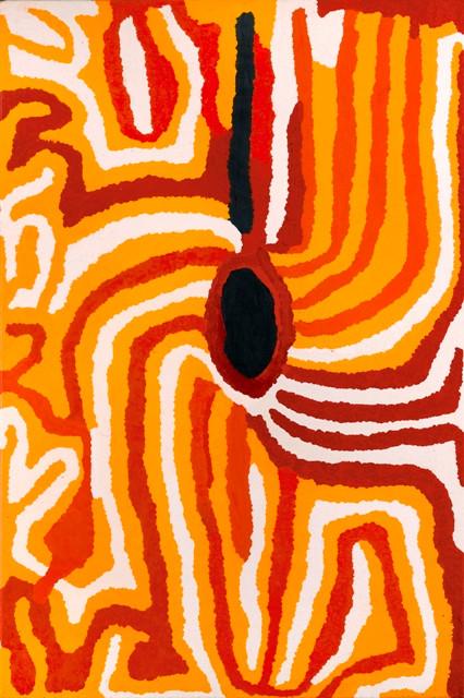 Lucy Yukenbarri Napanangka, A Soakage in Sandhill Country, 1997