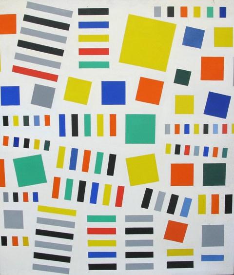 Caziel, WC504 - Composition, 1978