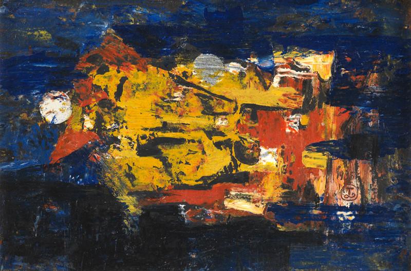 Joseph Lacasse, Tachisme (Dia no. 9242), 1935