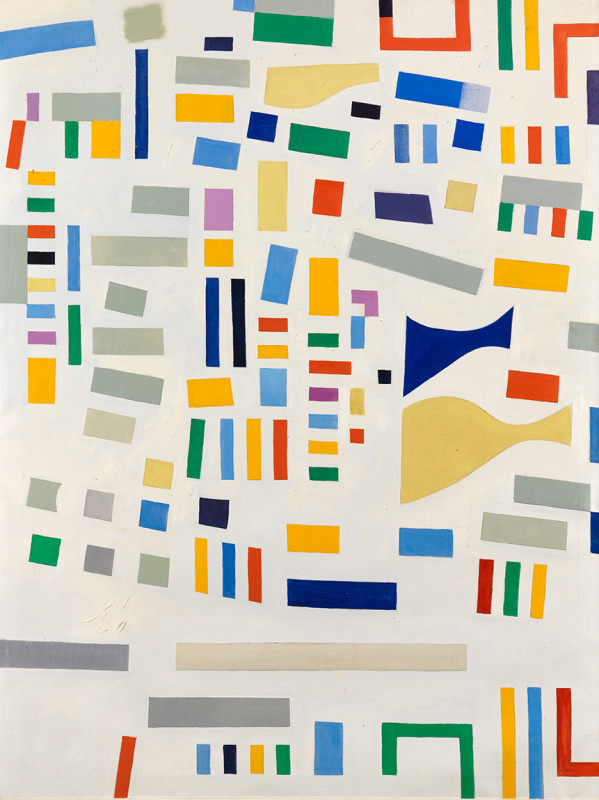 Caziel, WC658 - Abstract Composition 1967/XI/13, 1967
