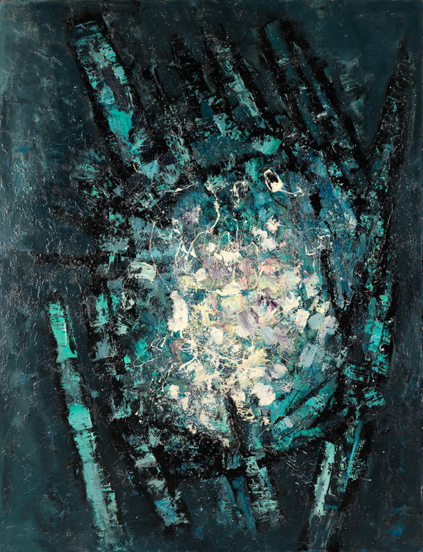Frank Avray Wilson, FAW816 - Stellar Formation, 1958