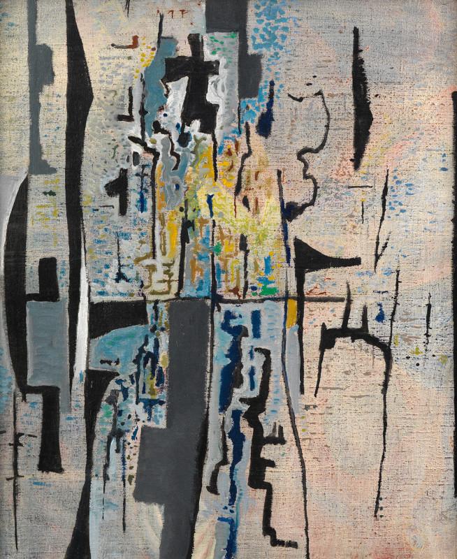 Caziel, WC544 - Composition X/1965, 1965
