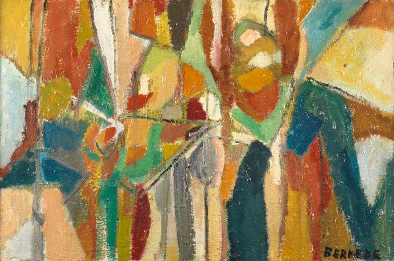 Georges Bernède, C059 - Composition 58, c.1958
