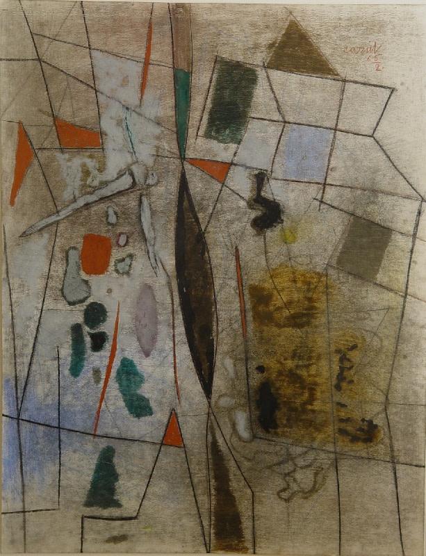 Caziel, WC516 - Composition 02.1965, 1965