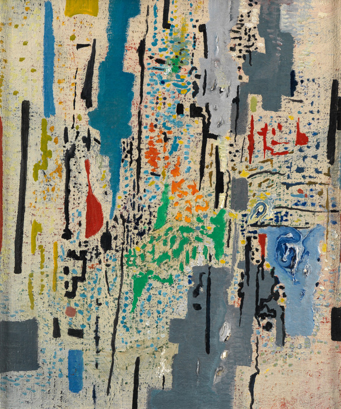 Caziel, WC548 - Composition X/1965, 1965