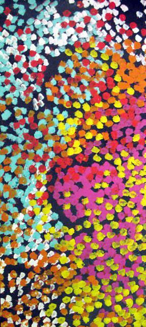 Lorna Napurrula, Caterpillar Dreaming 02, 2006
