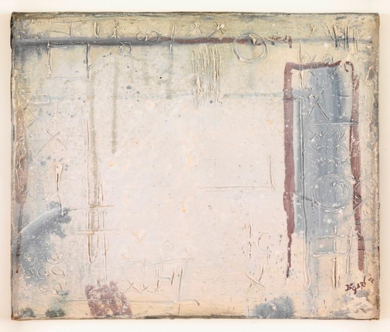 Bram Bogart, Signes sur Blanc - Witte Tekens, 1952