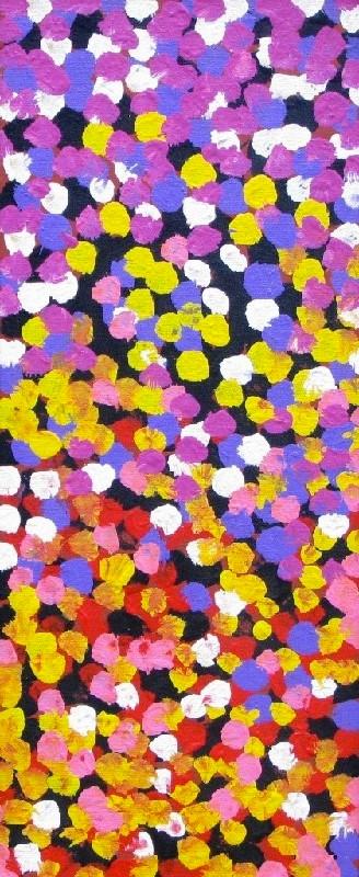 Lorna Napurrula, Caterpillar Dreaming 04, 2006